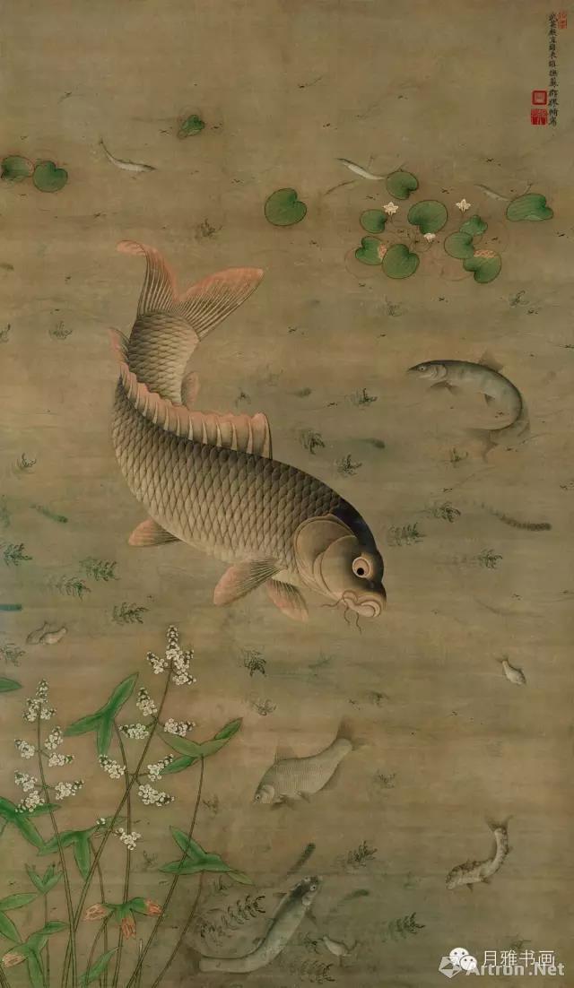 历代名家画:鱼图片