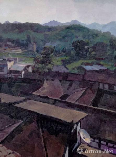 中国油画创作研究院重庆丰盛古镇写生作品专辑