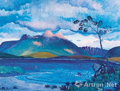 在风景中,有着最纯洁的思想的支撑_——20世纪英国风景画一瞥_中国美术馆-风景油画-艺术-风景画-尼斯