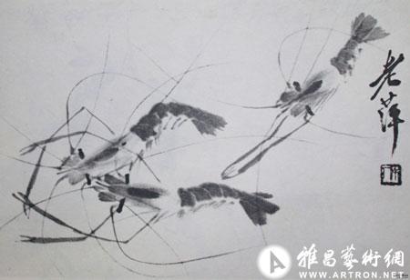 """齐白石画虾""""三变"""""""