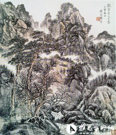 陶薄吉:再论山水画大师黄宾虹的书画艺术