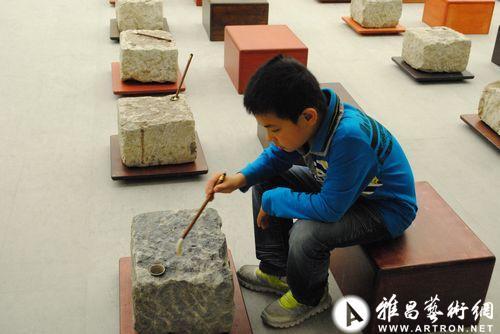 宋冬《金木水火土》石头,金属,木头等综合材料,2012-2013