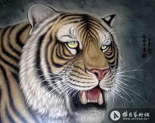 壁纸 动物 虎 老虎 桌面 500_398