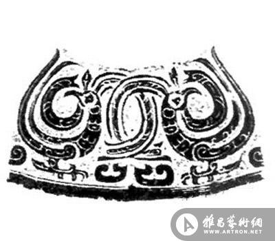 鸟纹是古代砚雕艺术中广泛使用的一种装饰纹样,在中国砚雕艺术史上