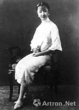 溥仪三妹韫颖像  20世纪初摄  爱新觉罗·韫颖,英文名