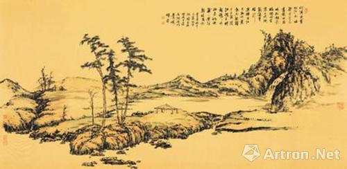 那么与一般风景画相比,山水画又体现怎样的艺术特质?