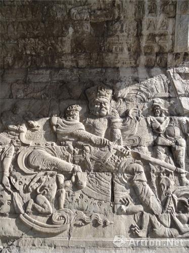 是元顺帝(1342年)命阿鲁图和别怯不花等建造的过街塔