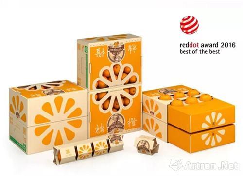 潘虎 褚橙包装设计