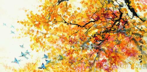 祖国大好河山的热爱与歌颂,而且有机呈现了油画艺术,水彩艺术以及中国