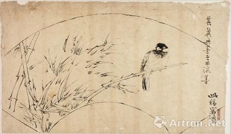 开源 启迪 记岭南画派高剑父宗师画稿藏品台湾展图片