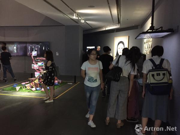 广东美术馆实验艺术系展览现场