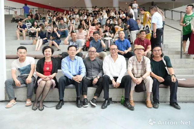 """""""中国当代艺术年鉴展2017""""开幕式现场"""