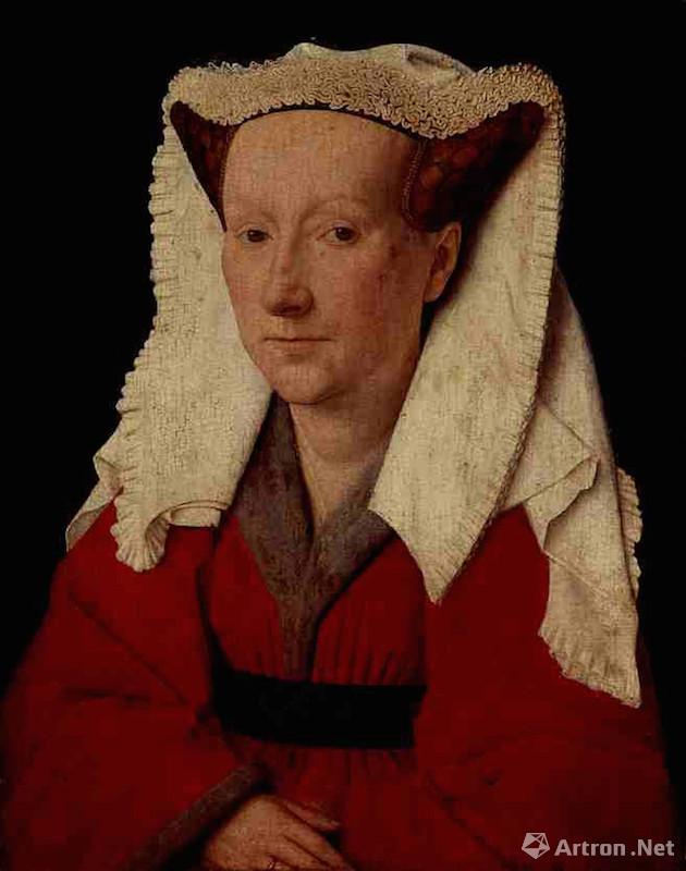 扬·凡·艾克 《妻子的肖像》