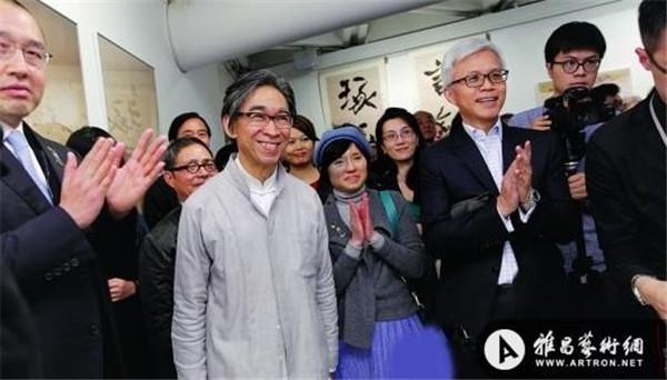 2014年1月18日下午,在香港亚洲协会举办的祝贺汉雅轩三十周年特别活动现场