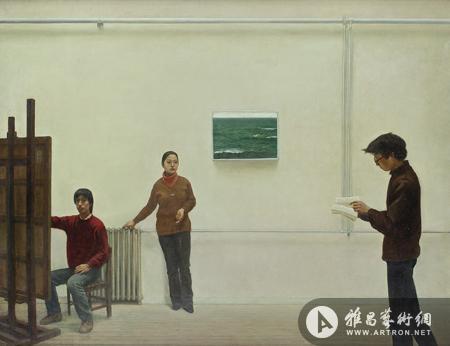 苏富比(北京)现当代中国艺术 李贵君《140画室》708万成交