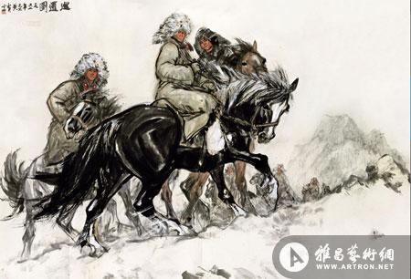 陶小明:喜庆题材作品更受藏家欢迎